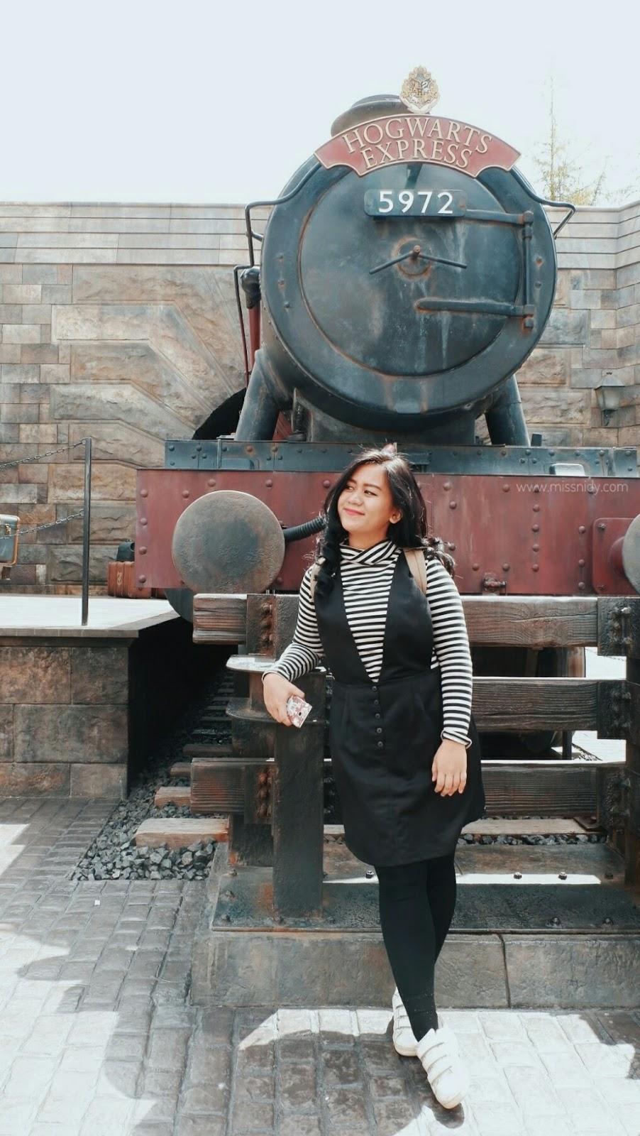 hogwarts express usj