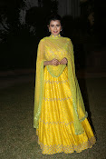 hebah patel photos in yellow ghagra-thumbnail-7