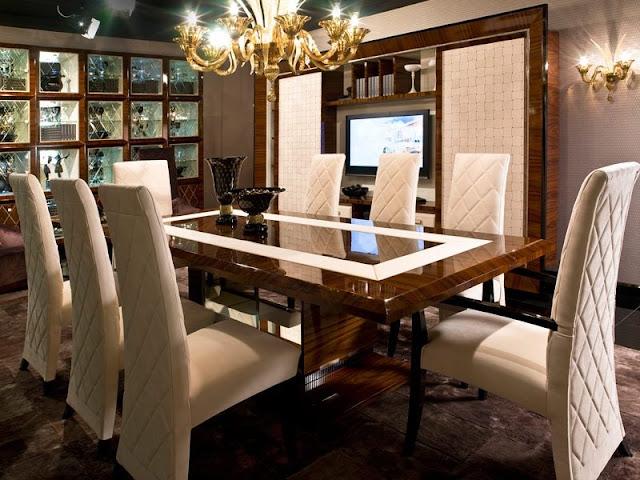 Choosing a Modern Dining Table Choosing a Modern Dining Table Luxury Dining Room Table Design Idea