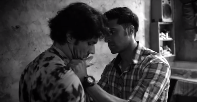 Randeeep Hooda and Akshay Oberoi from the movie Laal Rang.