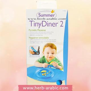 مفرش طاولة طعام للطفل الصغير ماركة سمر انفانت
