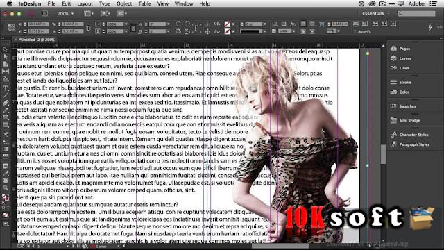 Adobe InDesign CC 2017 DMG File for Mac OS Offline Installer Free Download
