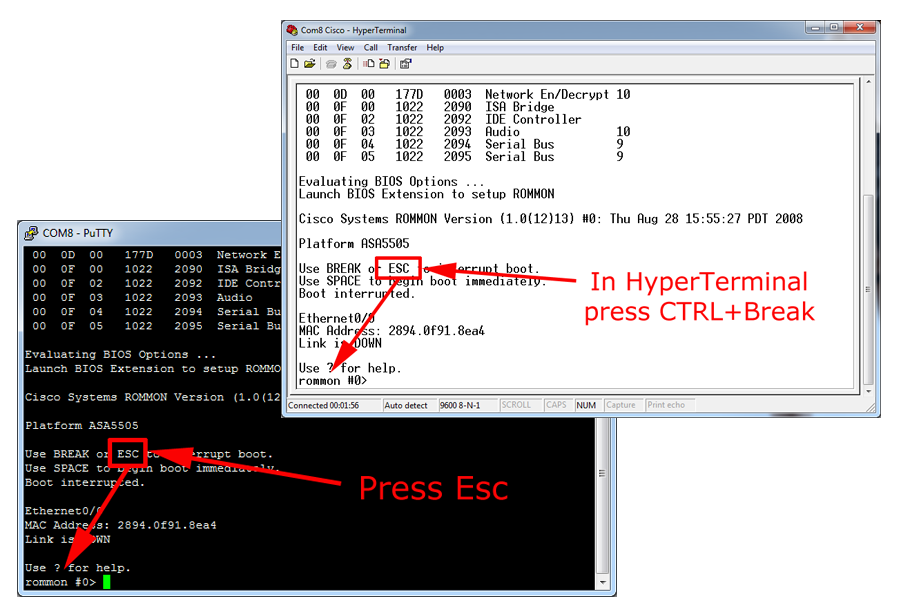 Network Engineer Blog: ASA Password Recovery Procedure