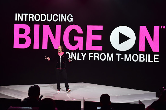 "YouTube and Google Play Movies & TV are in T-Mobile's ""Binge On"""