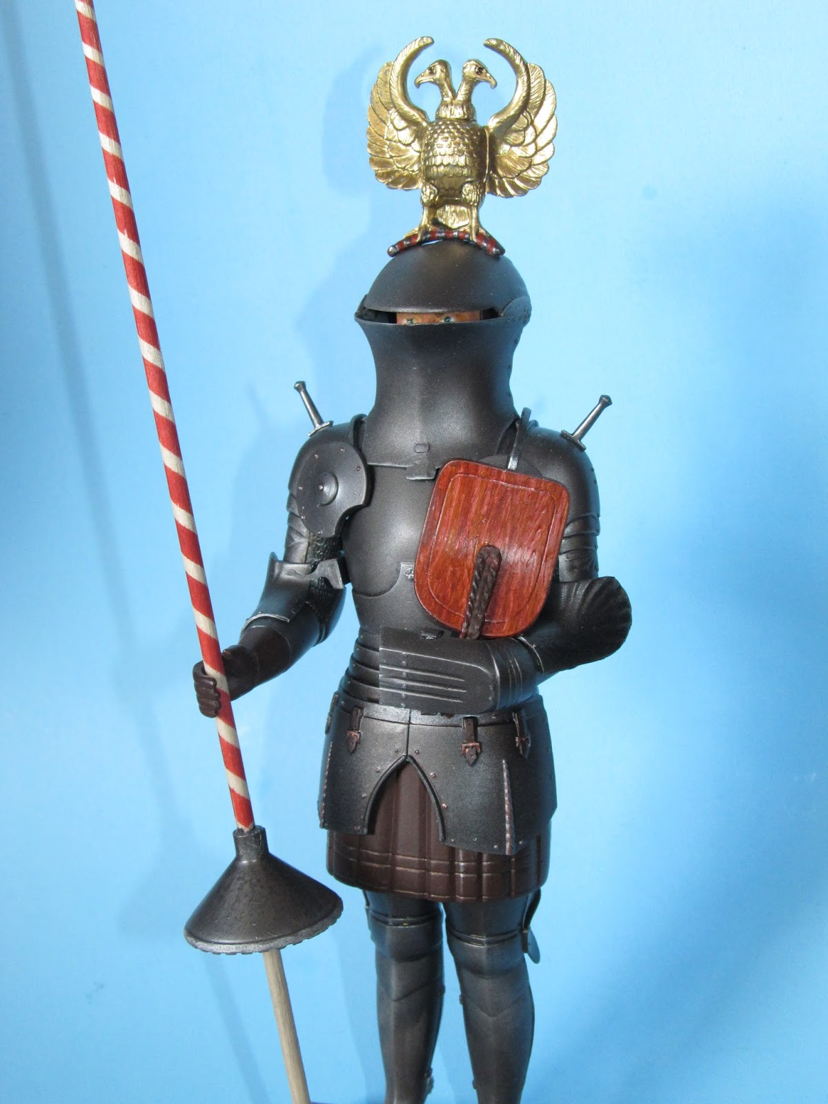 Clearwater Models: RED KNIGHT of VIENNA (Monogram)