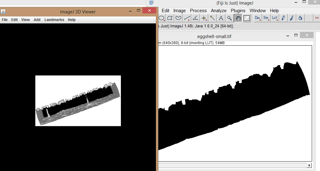 Tales of a 3D Printer: Converting  tiff data to  stl file