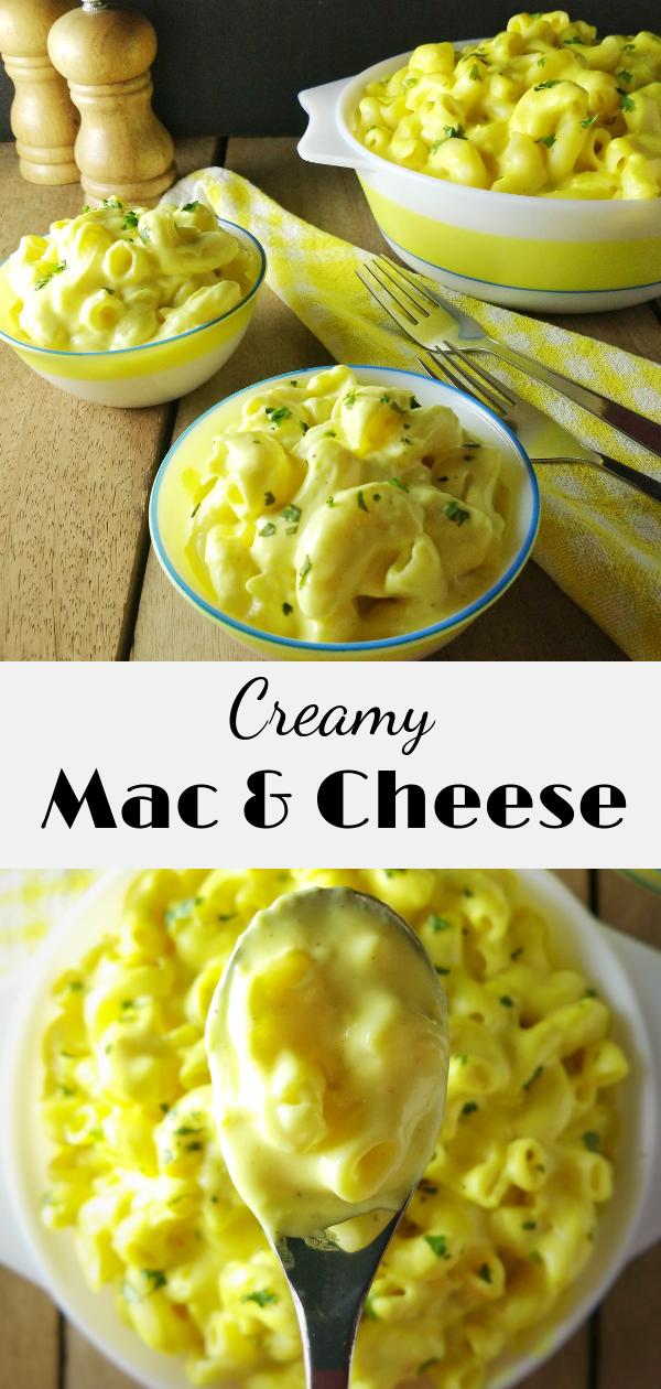 No bake Stovetop Mac and Cheese