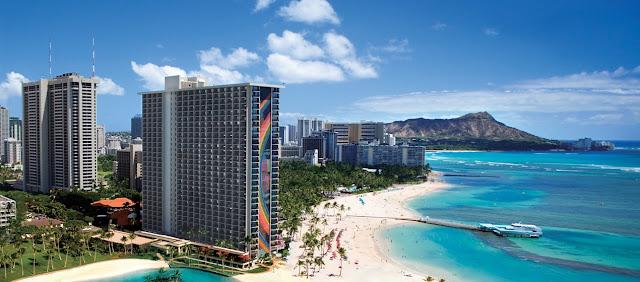 США Гавайи Вайкики Гонолулу Отель Hilton Hawaiian Village Waikiki Beach Resort