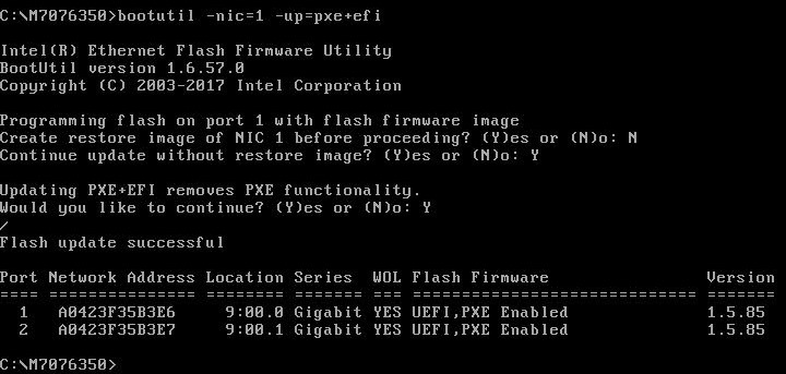 MyTech Notes: How to upgrade M7076-i350 firmware to support