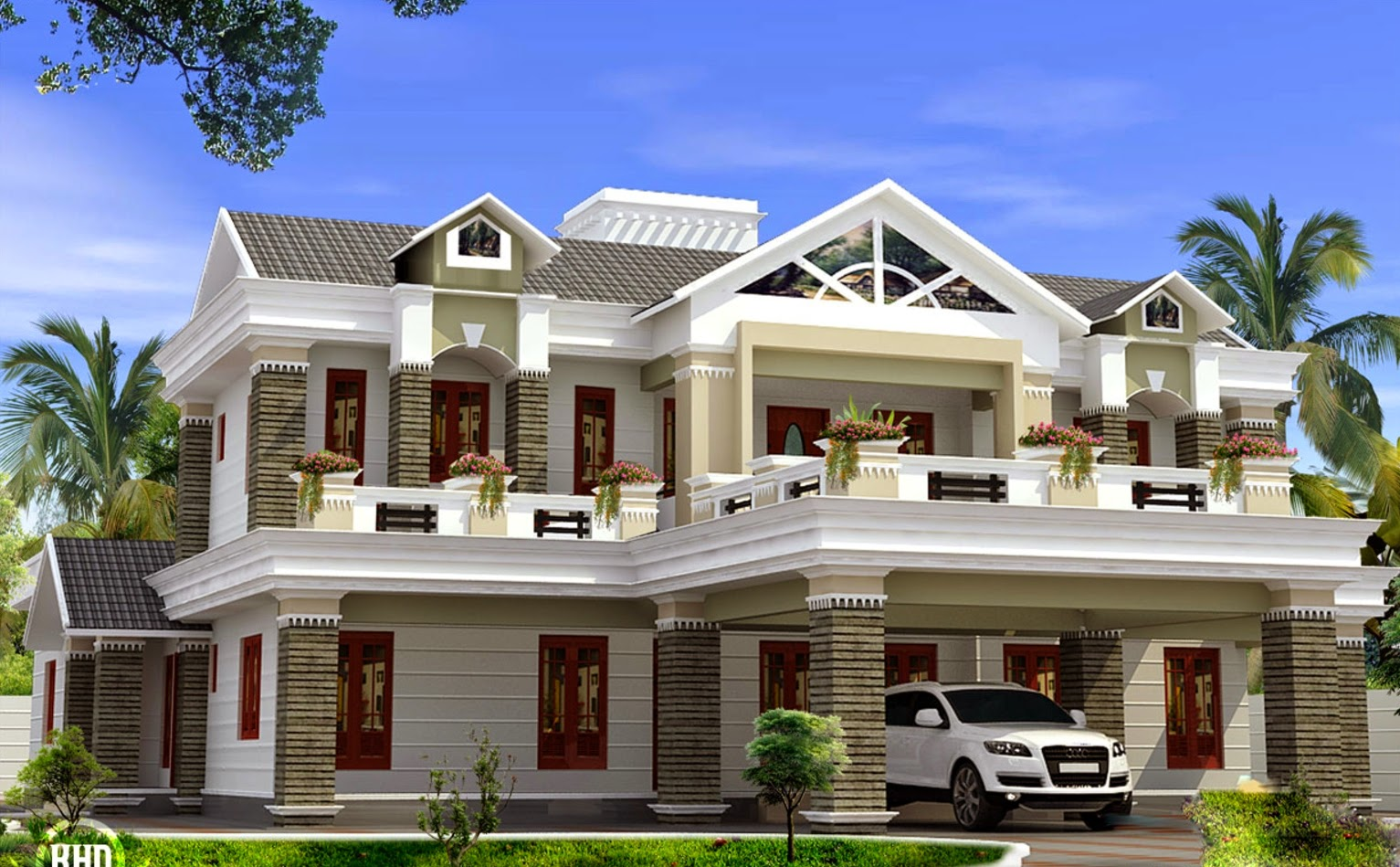 Beautiful Kerala House Plans - Download Kerala Style Small House Plans With Photos Pics