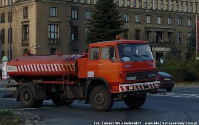 Liaz 110 z firmy PTS Kraków