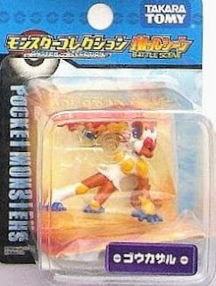 Infernape figure Takara Tomy Monster Collection MC Plus series