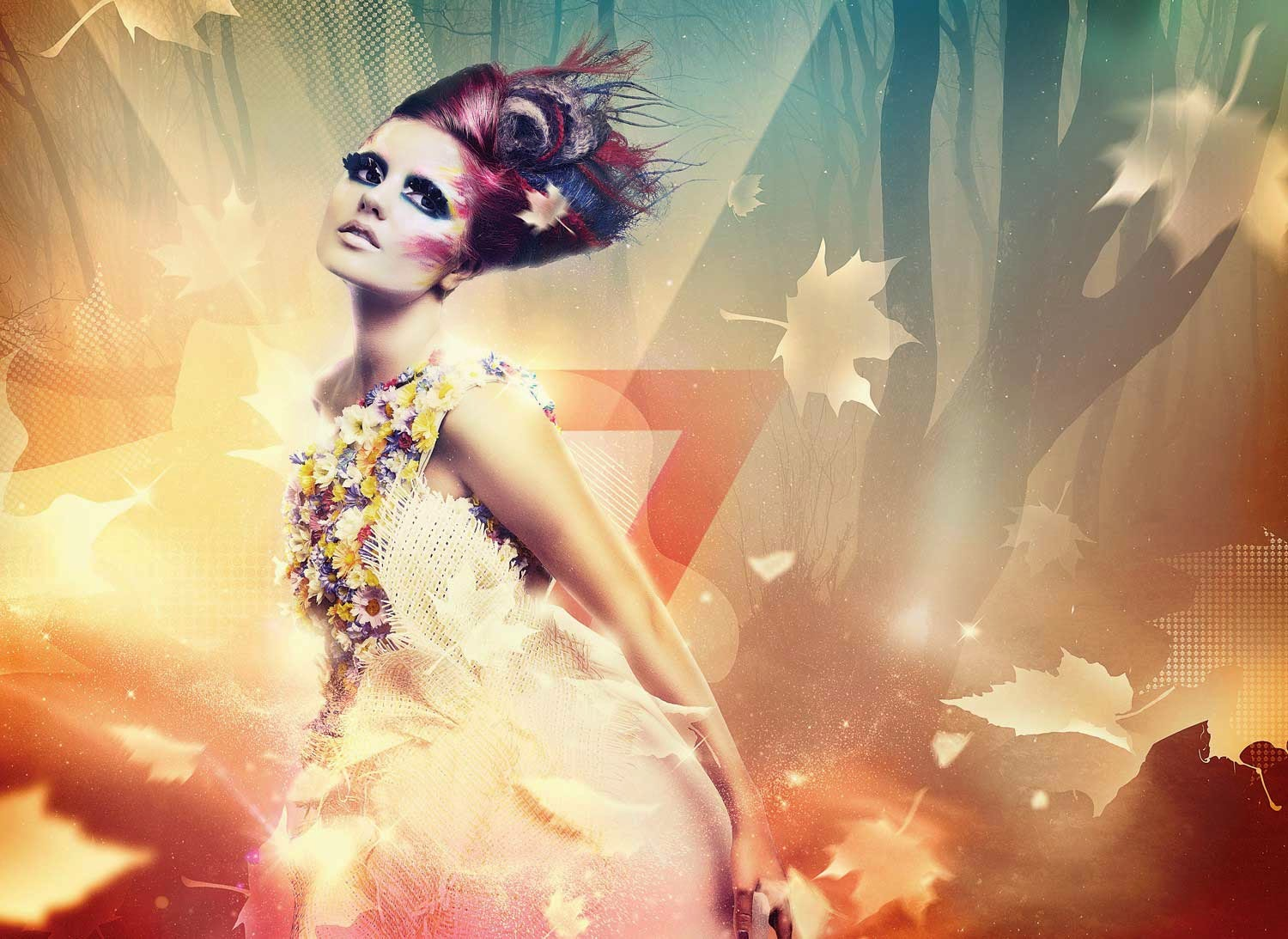 Create Beautiful Lighting Effects Photoshop Tutorial