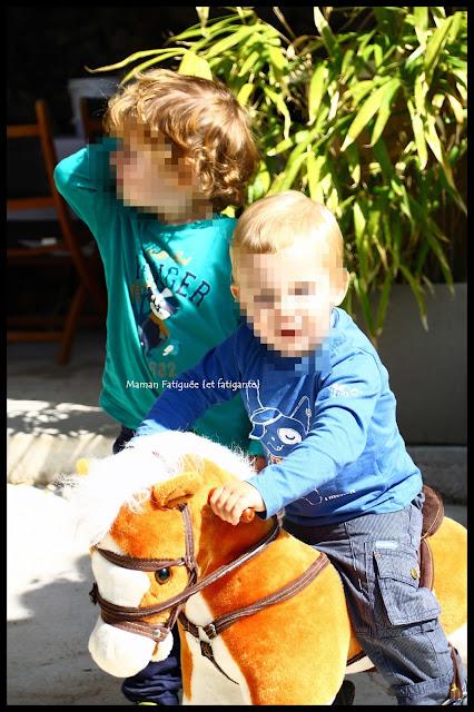 cheval a bascule enfant