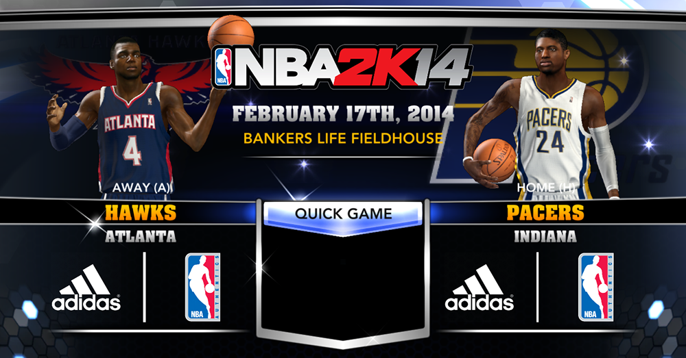 NBA 2K14 Official Roster Update - February 17, 2014
