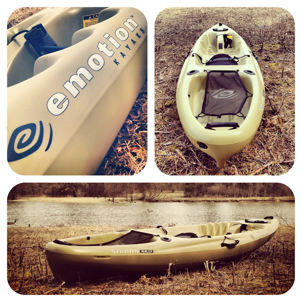 Emotion Stealth Angler 10 Kayak