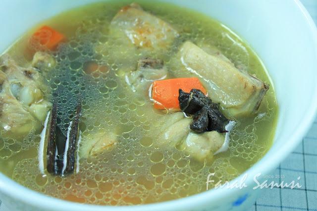 Resepi Sup Ayam Senang
