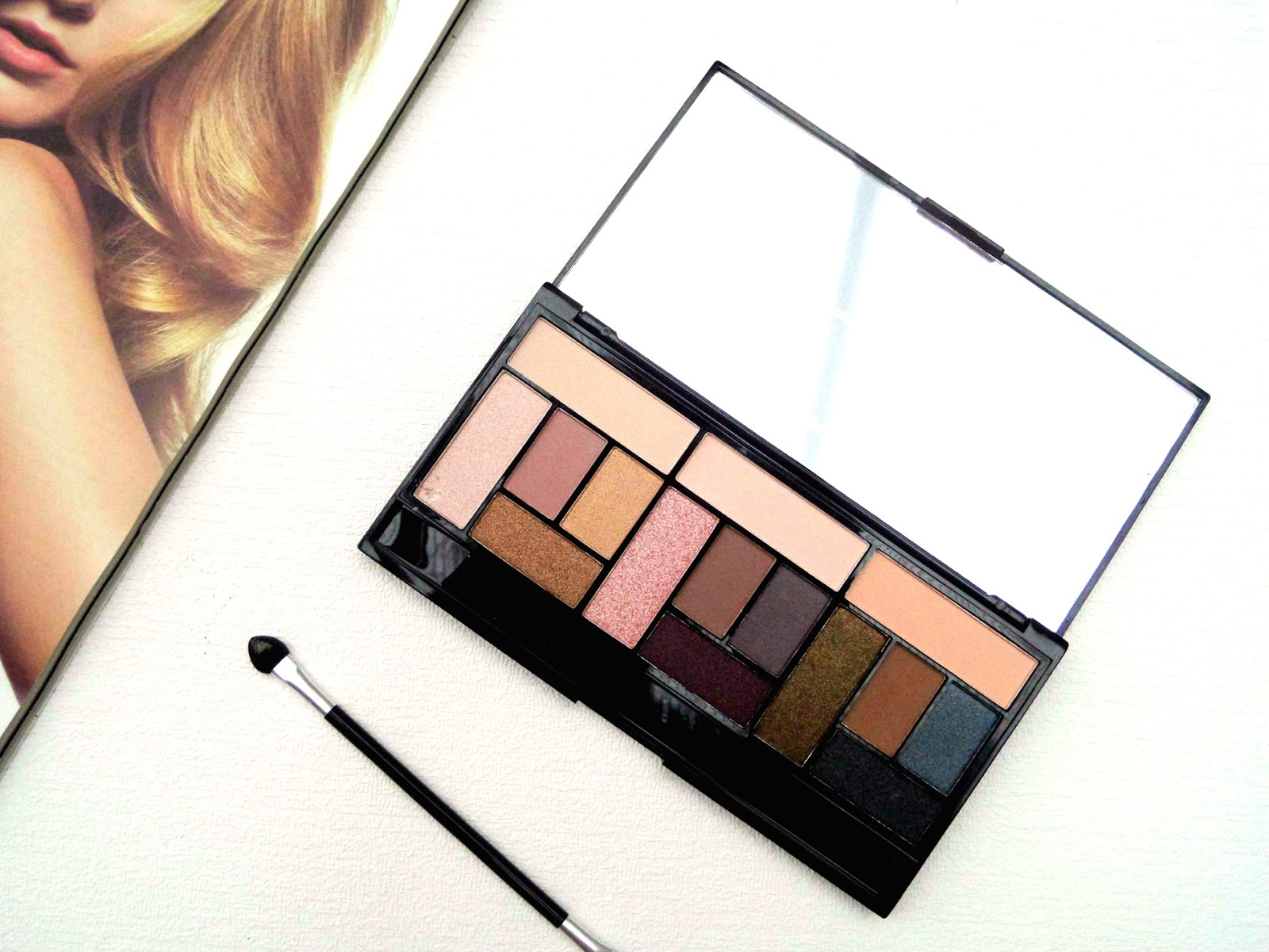 Makeup Revolution Pro Looks Stripped & Bare Palette Review