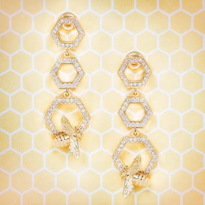 Honeycomb Earrings
