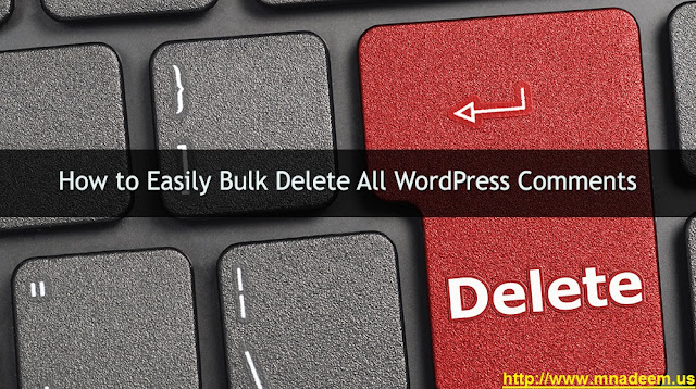 How to Delete All WordPress Comments