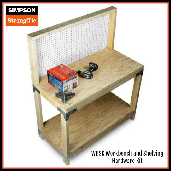 simpson strong tie workbench hardware kit