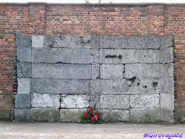 muro morte Birkenau