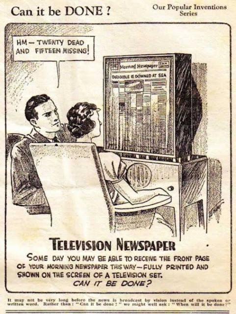 Ideas tecnológicas futuristas de los años 30