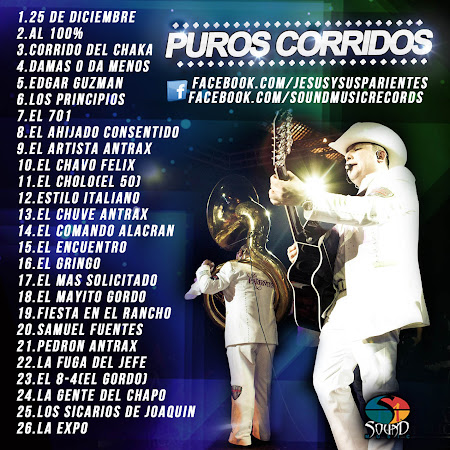 Jesus Ojeda Y Sus Parientes - Puros Corridos (2012) (Album / Disco)