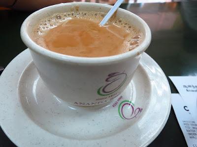 Ananda Bhavan, masala tea