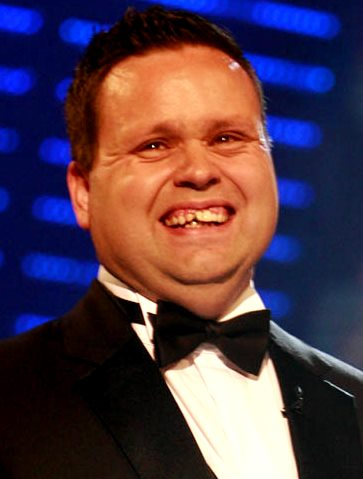 Foto de Paul Potts con corbata michi