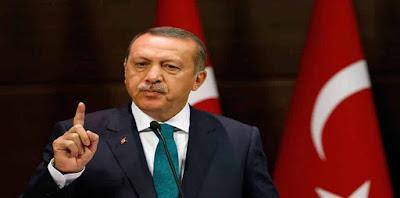 الرئيس التركي رجب طيب أرودغان