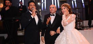 فيديو وصور حفل زفاف الفنانة المغربية جنات الثاني بفندق فور سيزون