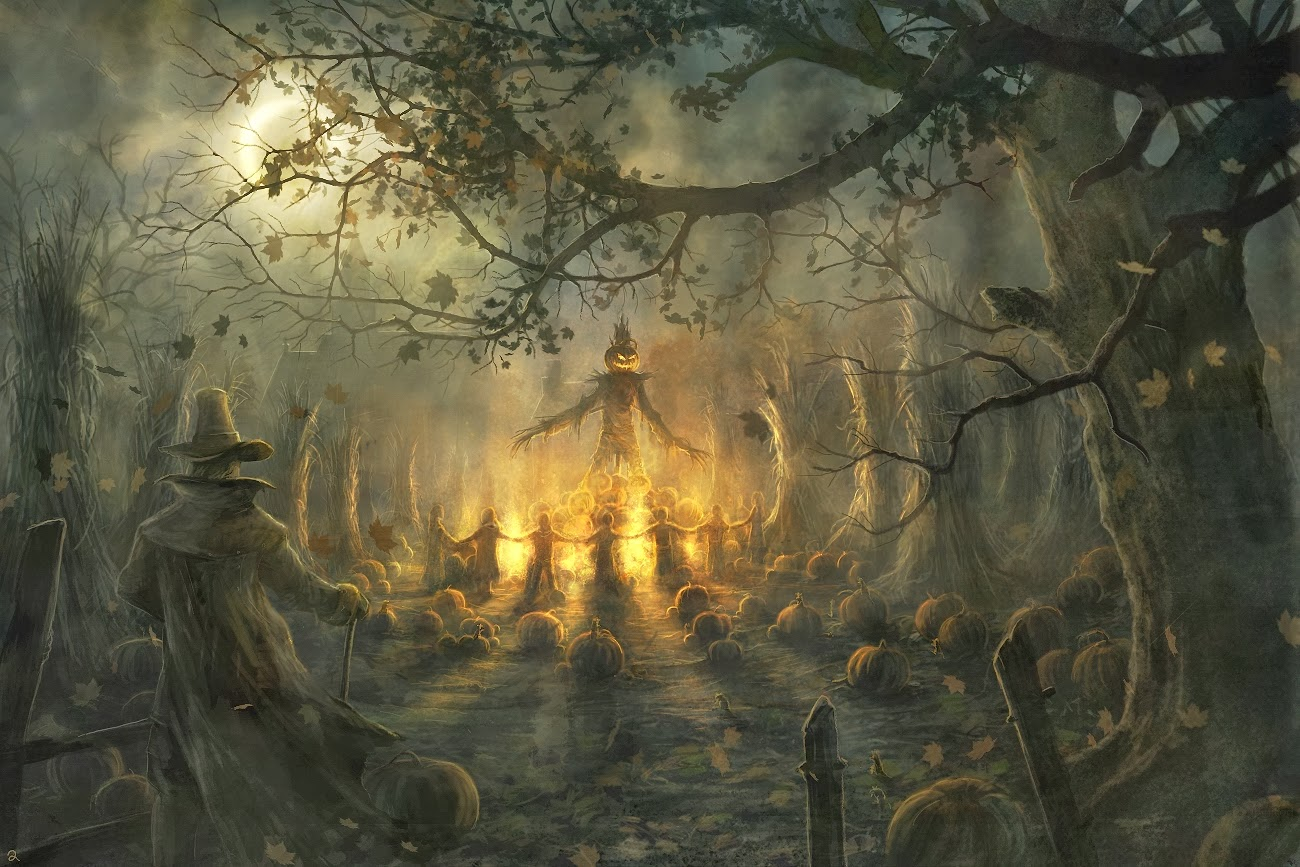 The Parsimonious Pagans: Happy Samhain to all & Blessings Be!