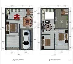Desain Terbaru Rumah Minimalis 2 lantai Type 36 Paling Nyaman Untuk Hunian 1