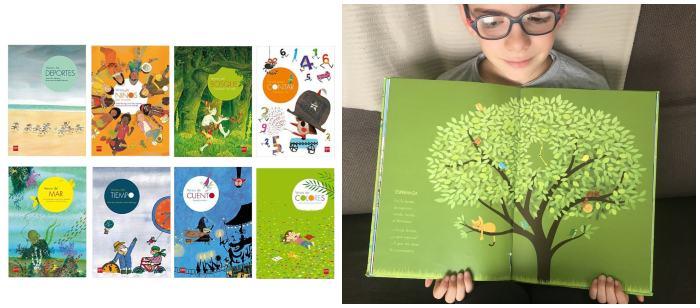 cuentos libros infantiles en letra ligada Colección Versos de sm, poesía para niños