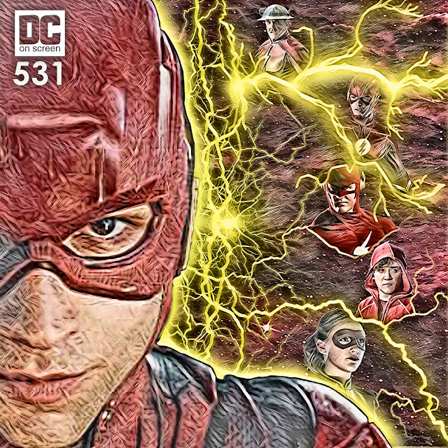 Ezra Miller's Flash connects with the CW and CBS Flashes