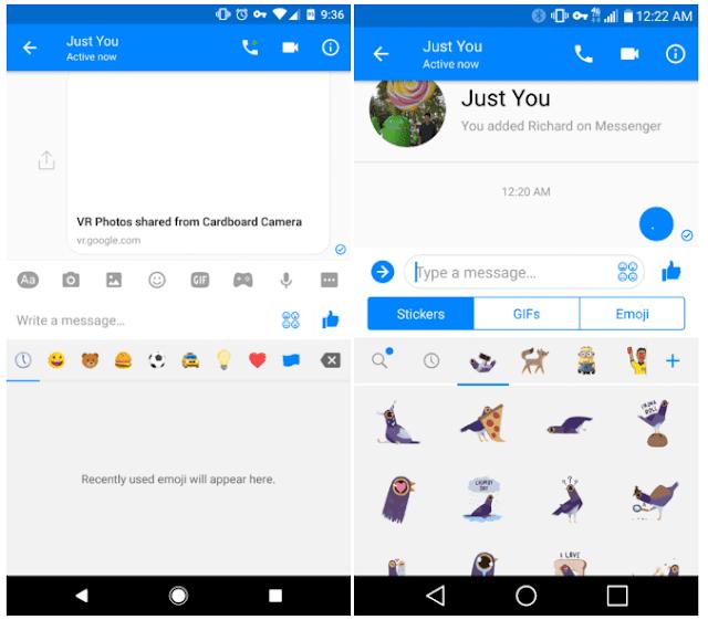 facebook messenger app تطبيق فيس بوك ماسنجر
