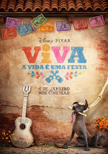 Disney Pixar Poster de Viva A Vida é Uma Festa