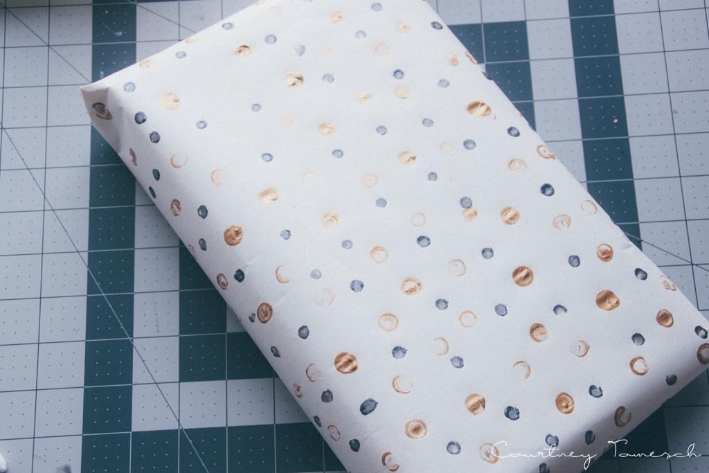 Courtney Tomesch Gift Wrap DIY