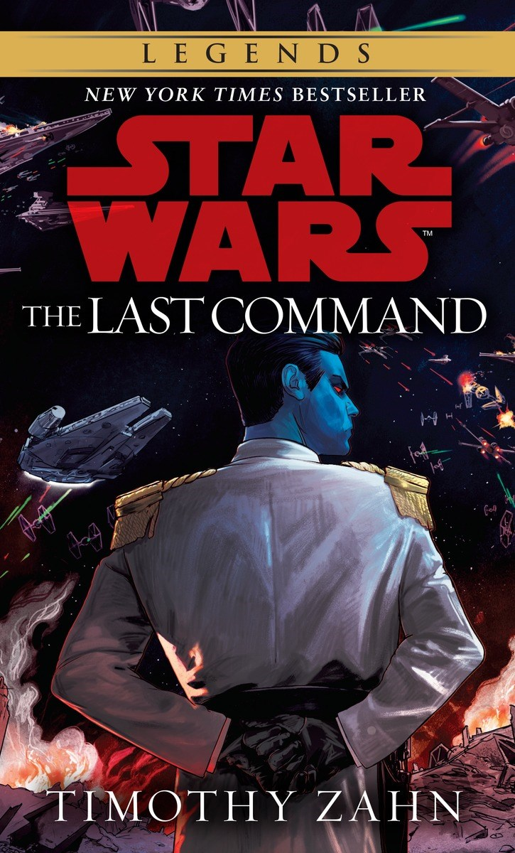 Star Wars Book Cover Art : New thrawn trilogy cover art revealed the star wars