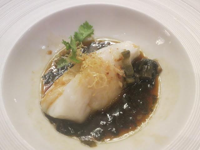 惠州菜蒸鲈鱼扒