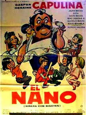 Няня с усами / El nano: Niñera con bigotes. 1971.