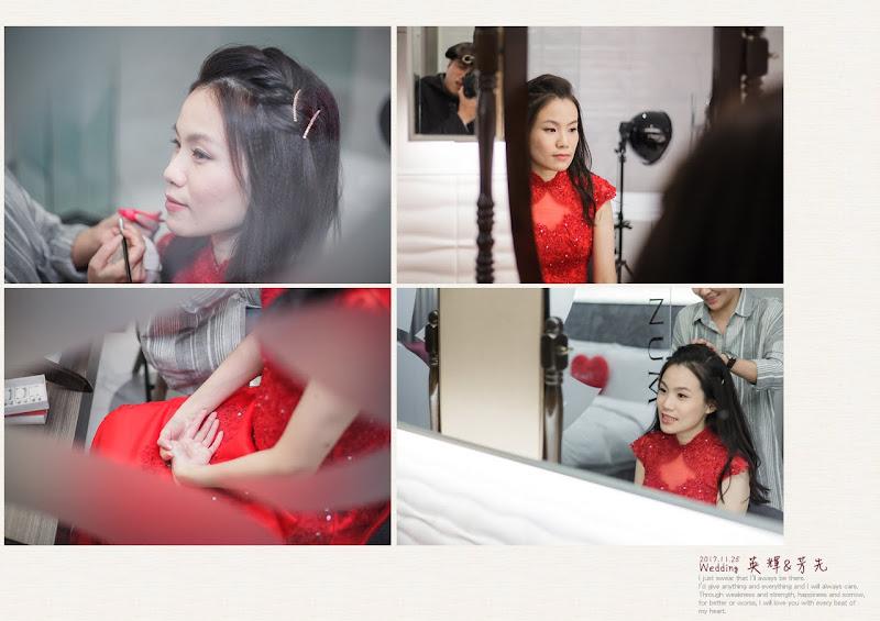 平凡幸福婚禮攝影,婚攝作品:婚禮會場化妝