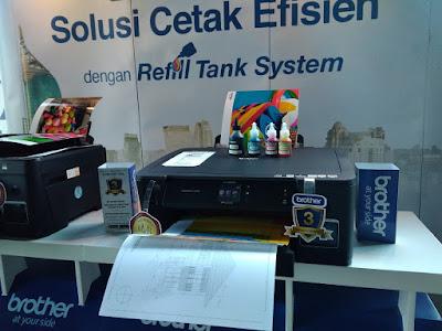 Printer Brother Refill Ink Tank A3 Inkjet