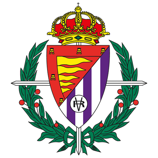 Resultado de imagen de logo real valladolid