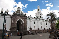 Quito Cathedral Church Exterior View