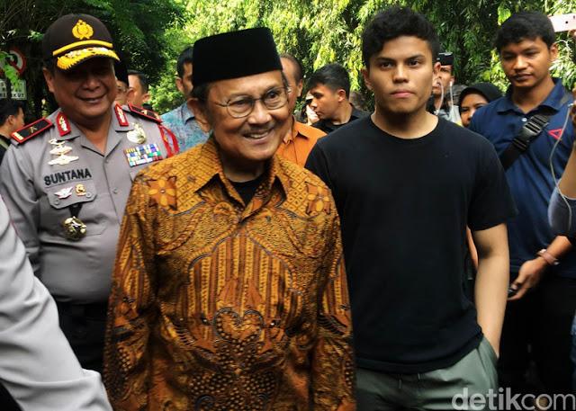 Habibie Dirawat, Begini Kesigapan Reaksi Presiden Jokowi