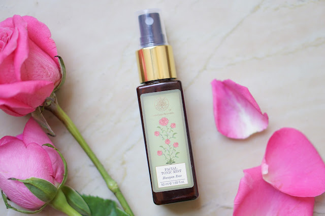 Forest Essentials HASAYAN Rose Facial Tonic Mist Review