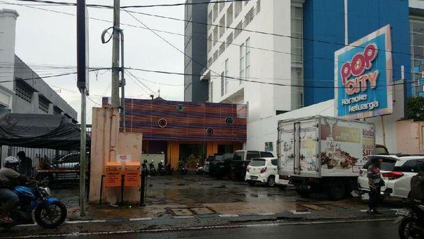 Pop City, lokasi tempat foto aneh itu terjepret (Foto: M Rofiq)