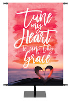 Tune My Heart Church Banner